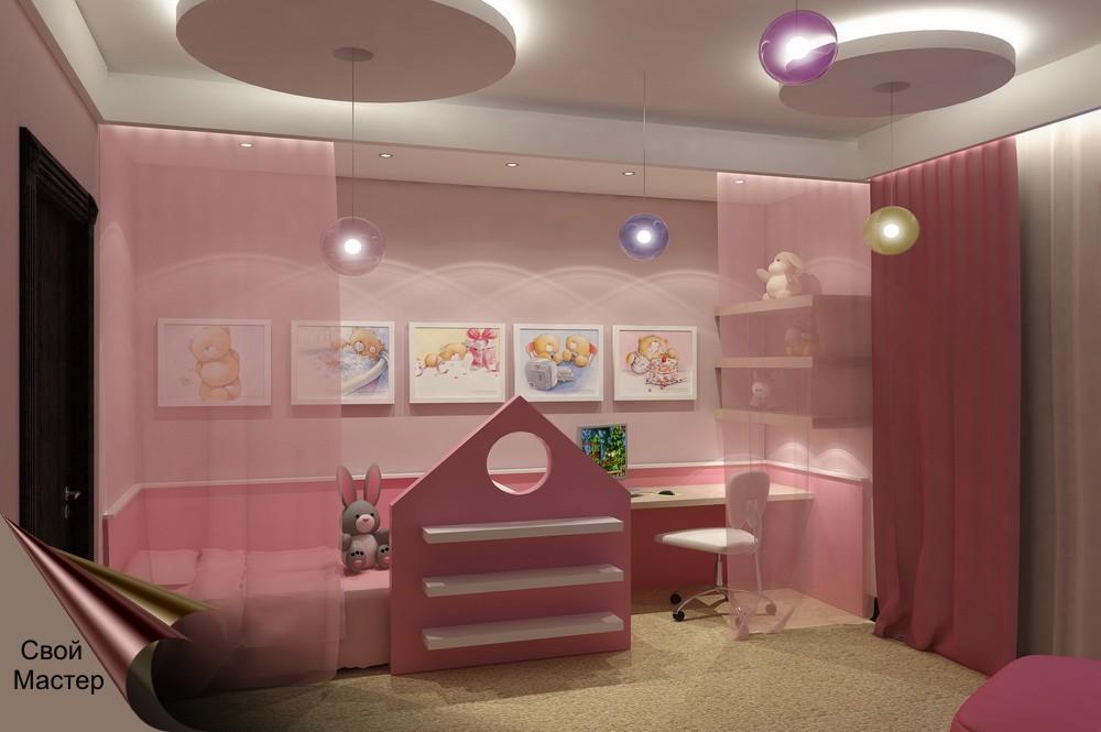 Дизайн-проект детской комнаты - Свой Мастер