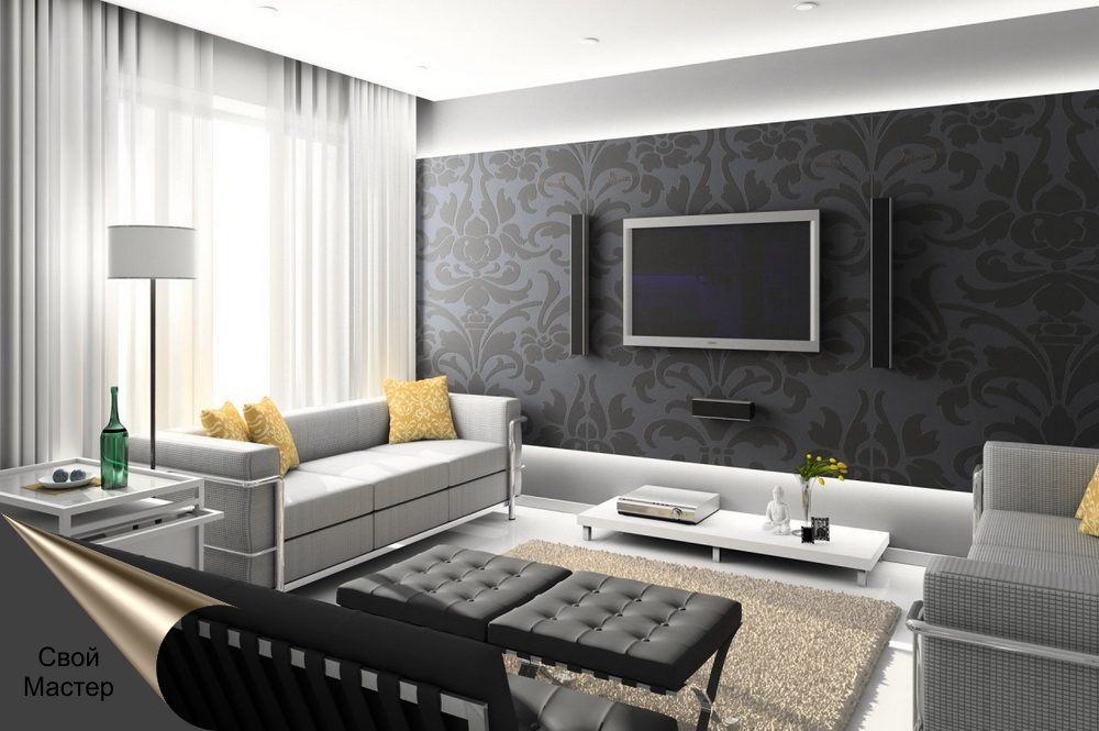 Дизайн-проект гостевой комнаты - Свой Мастер
