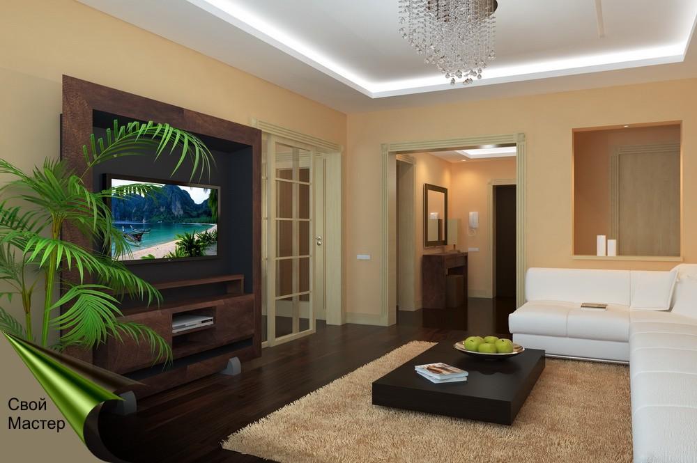 Дизайн-проект гостиной - Свой Мастер
