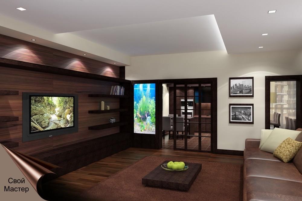 Дизайн-проект кухонного помещения с кухней - Свой Мастер
