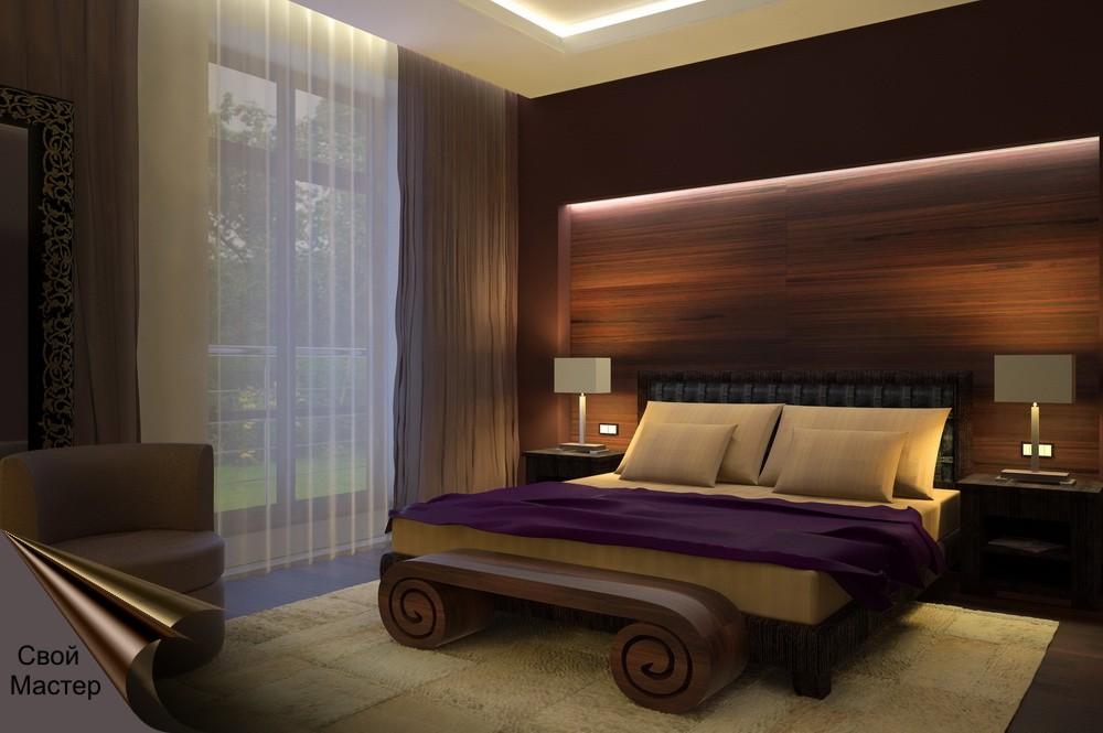 Дизайн-проект спальни - Свой Мастер