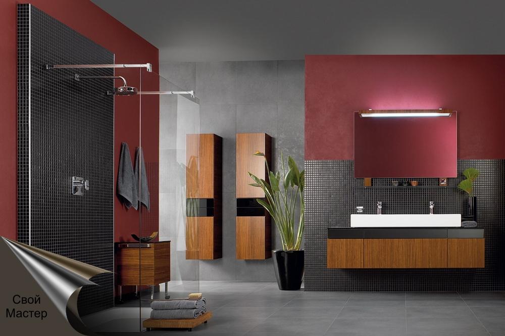 Дизайн-проект ванной комнаты 2 - Свой Мастер