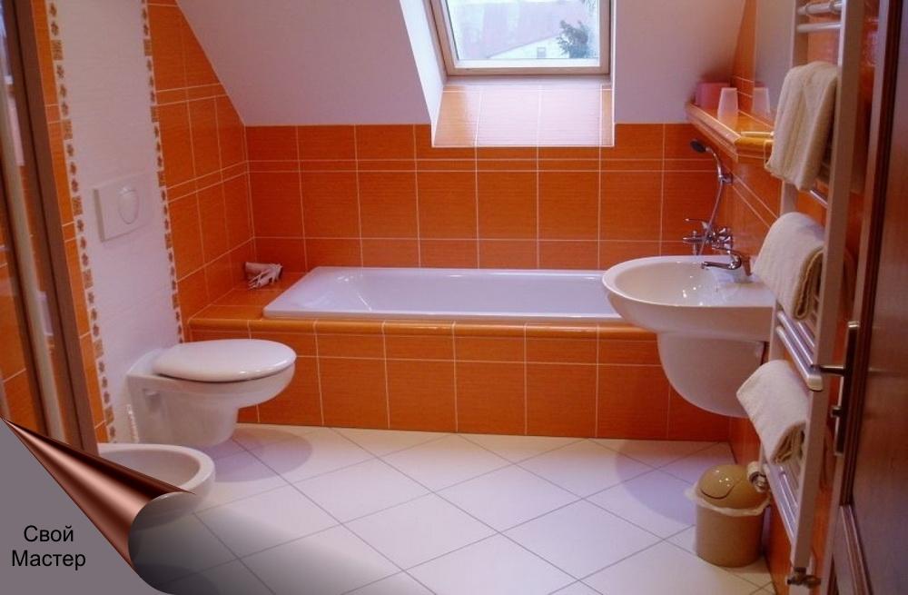 Дизайн-проект ванной комнаты 7 - Свой Мастер