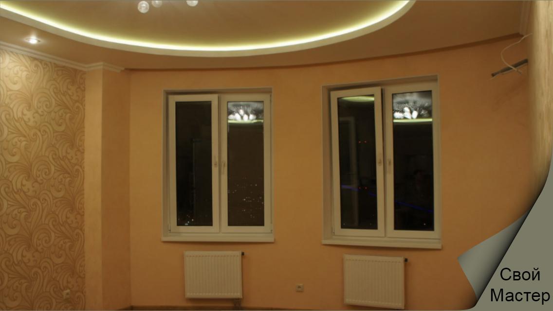 Натяжные потолки (пленка и ткань) - Свой Мастер
