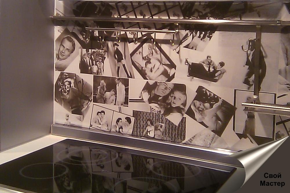стильная фотоплитка с изображениями актеров - Свой Мастер
