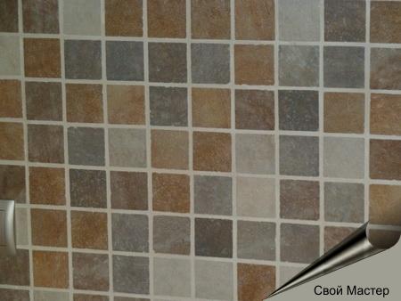укладка мелкой плитки в кухоной зоне - Свой Мастер