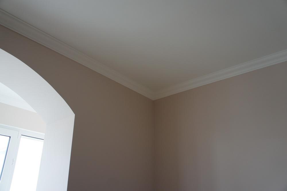 потолок и стены в кухне, арочный проём - Свой Мастер
