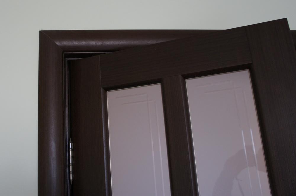 вход в спальню, монтаж двери - Свой Мастер