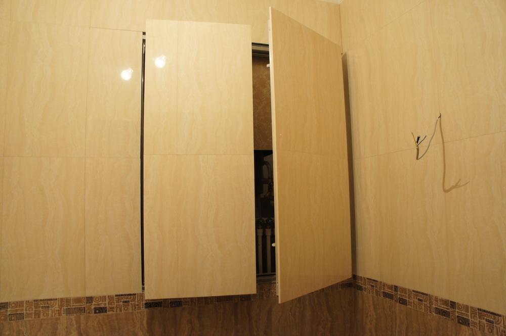 монтаж люка - невидимки, скрытый люк с двумя дверками - Свой Мастер