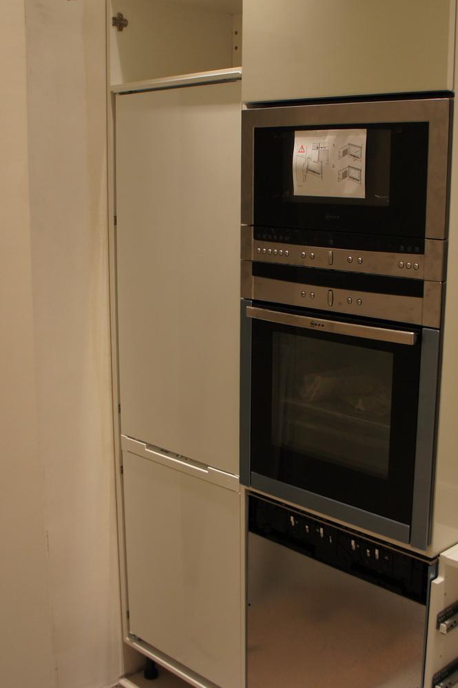 встраивание холодильника в колонну кухонную - Свой Мастер