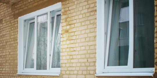 Дует по периметру пластикового окна
