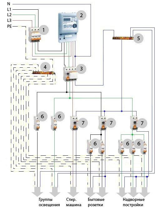 Jp 380 схема электрическая