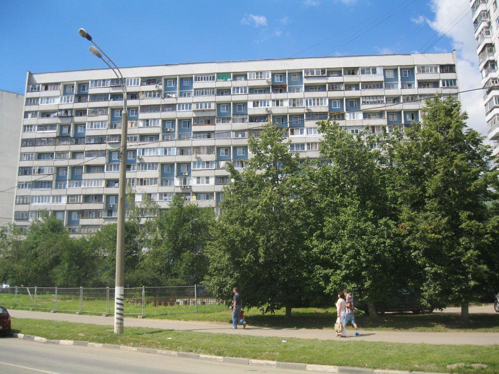 Серия дома п 46м фото балкон.
