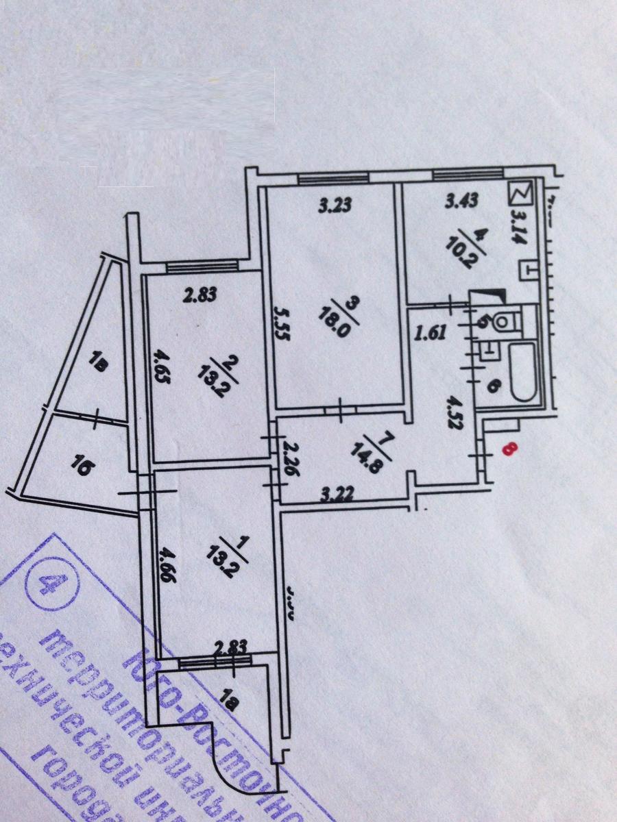 Людмила 4 комнатные квартиры в п3 падает