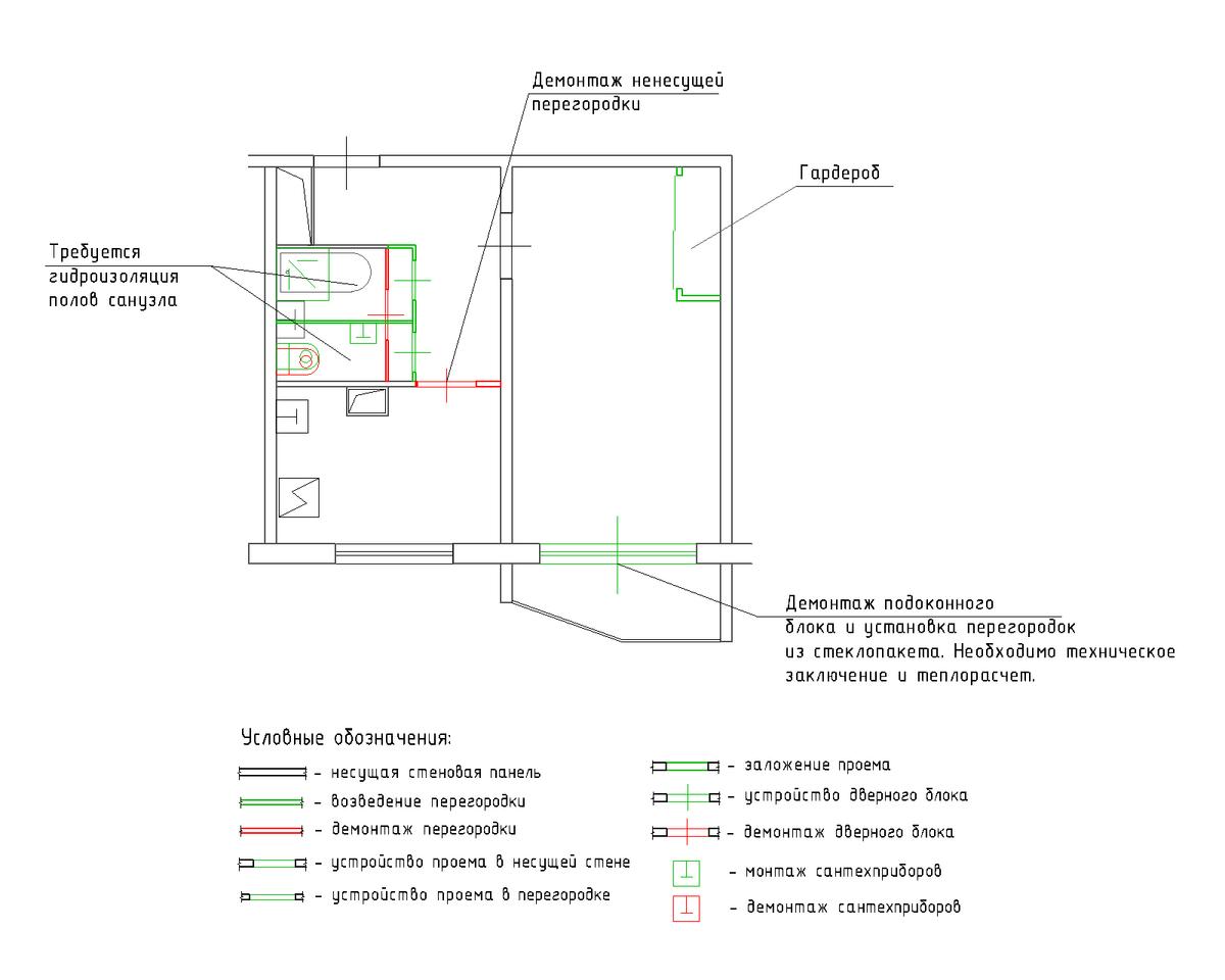П 44 трехкомнатная квартира дизайн